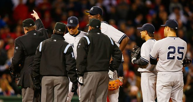 Michael Pineda: New York Yankees pitcher was ejected by officials