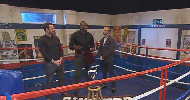 The draw: Danny Dyer and Kevin Mitchell pick the Prizefighter fights out