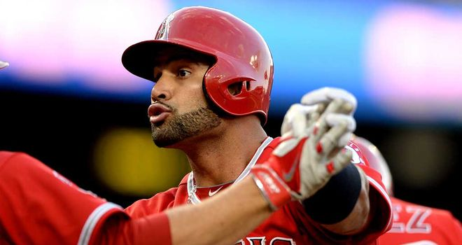 Albert Pujols: Two more home runs for Angels first baseman