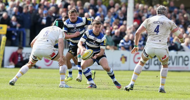 George Ford: Bath fly-half sin-binned in second half of win over Worcester