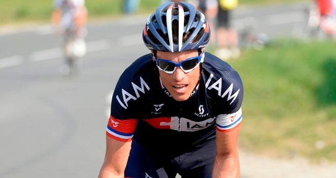 Sylvain Chavanel: French rider out of Paris-Roubaix