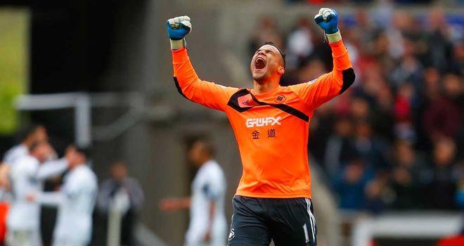 Michel Vorm: Swansea goalkeeper wanted by Tottenham