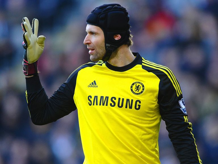 Cech: Suffered shoulder injury in first leg