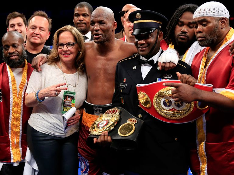 Bernard Hopkins: World champion at the age of 49