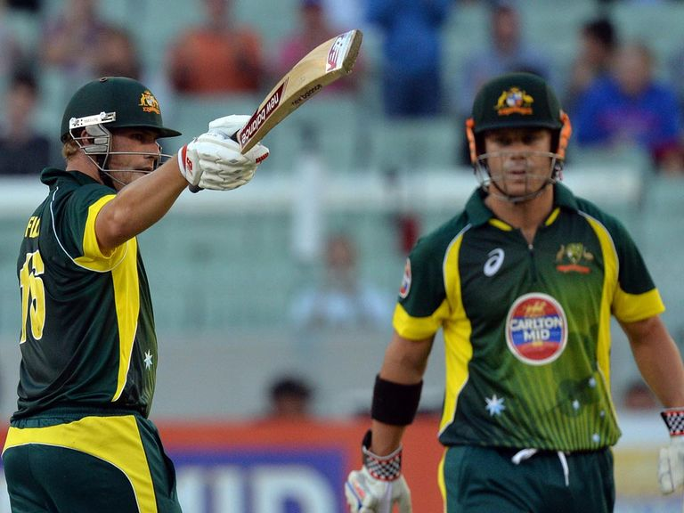 Finch and Warner: Have failed to hit top form