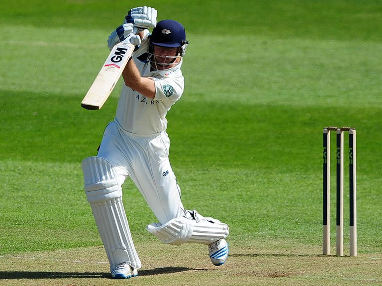 Lyth made a century for the Tykes
