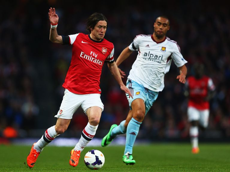 Tomas Rosicky: Determined to impress Arsene Wenger