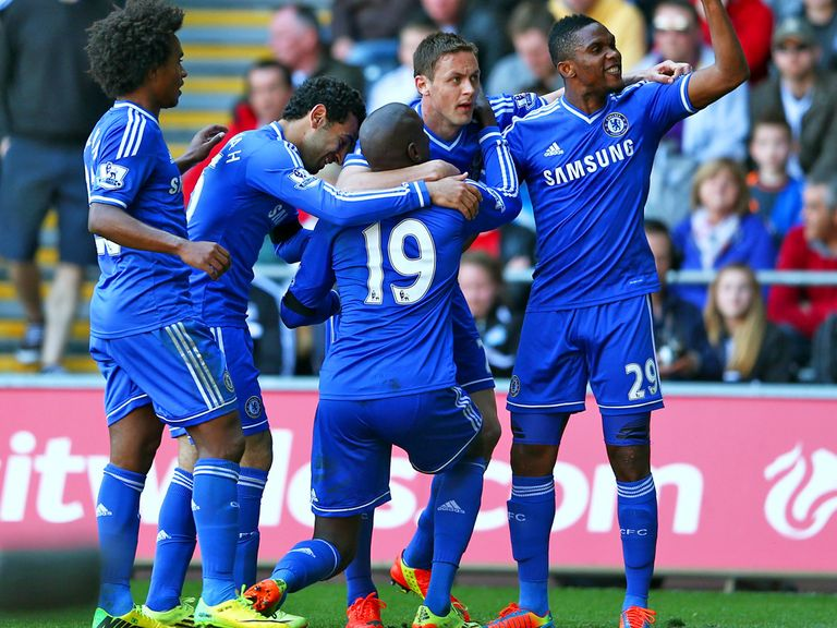 Title-chasing Chelsea are in action in the Premier League on Saturday