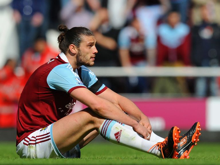 Andy Carroll: Has picked up an ankle injury
