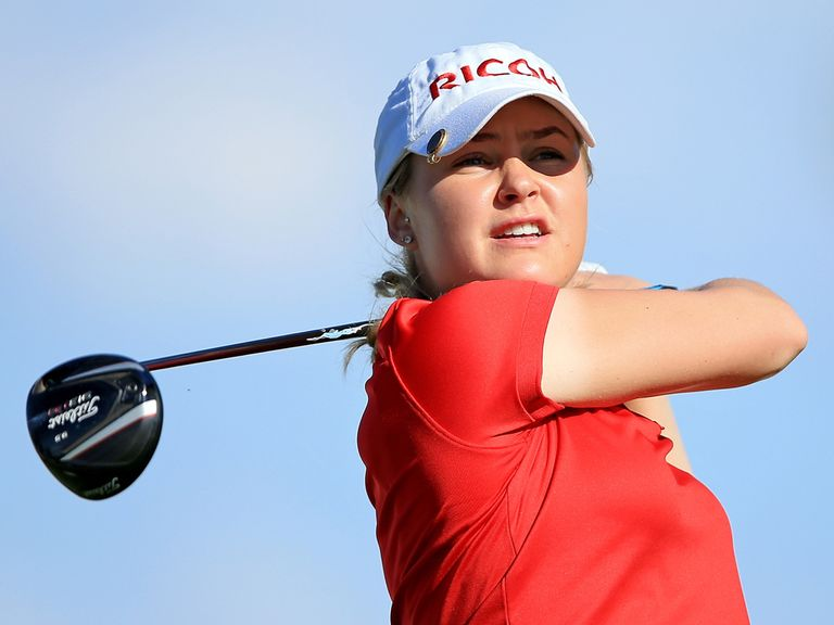 Charley Hull: Just two shots off the pace heading into the final round