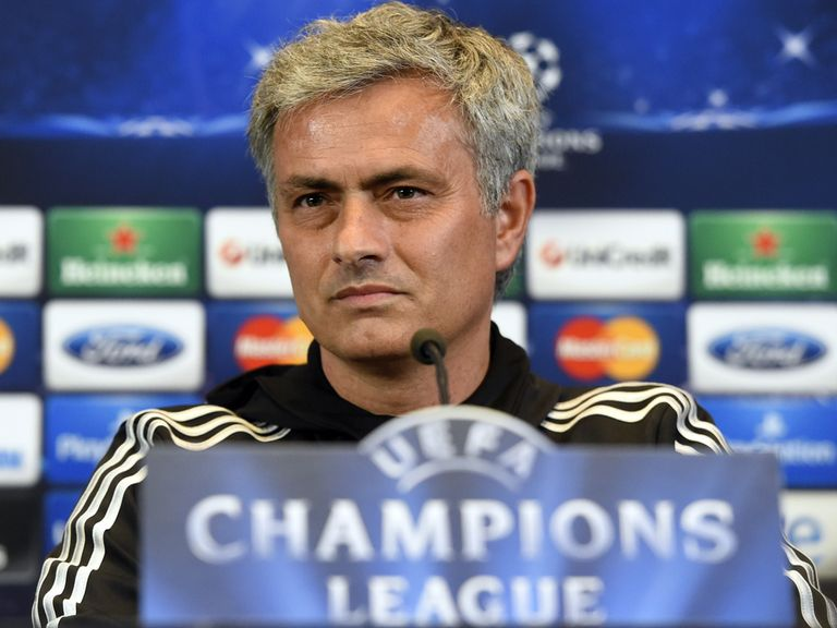 Jose Mourinho: Not in talkative mood