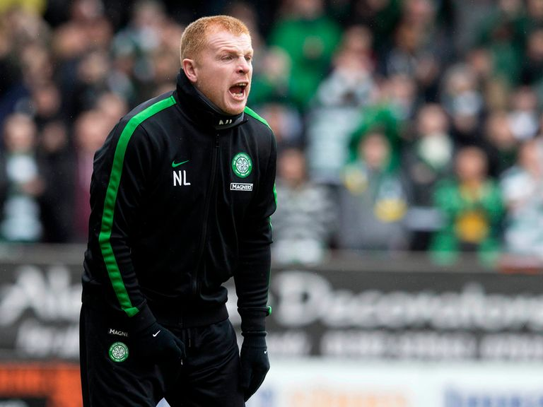 Neil Lennon: Celtic manager in the market for a striker
