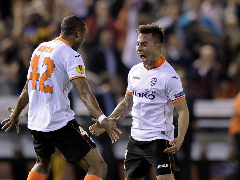Valencia overturned a 3-0 first-leg deficit to go through