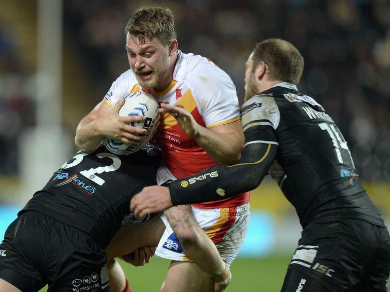 Elliott Whitehead: Hasn't broken his ankle