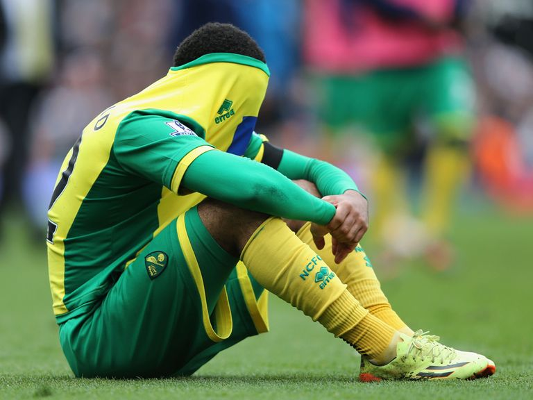 The table and fixture list make worrying reading for Norwich