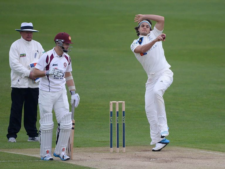 Jack Brooks: Among the wickets for Yorkshire