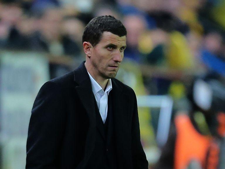 Javi Gracia: New Malaga boss.