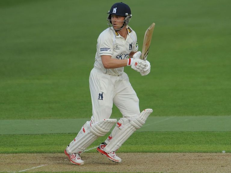 Jonathan Trott: Made his return to cricket on Tuesday