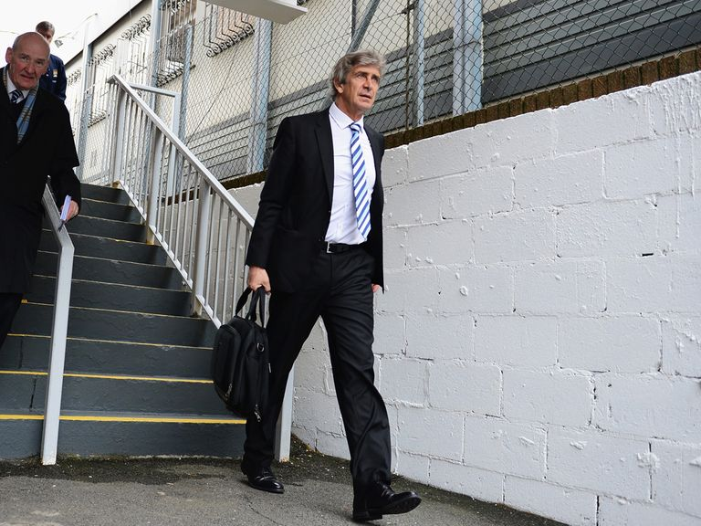 Manuel Pellegrini: Hoping to seal title success