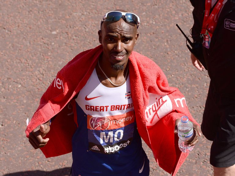 Mo Farah: Forced out due to illness