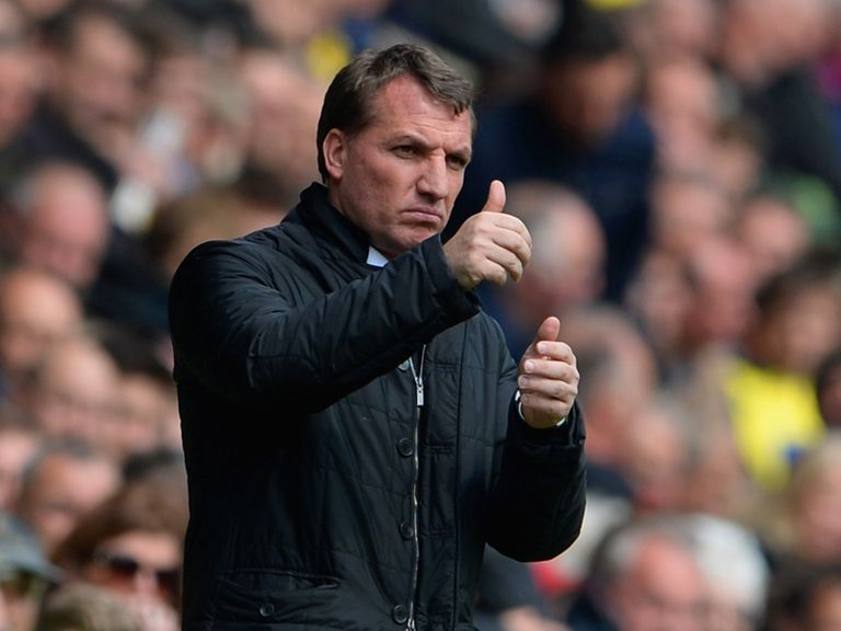 Brendan Rodgers: Three wins from the title