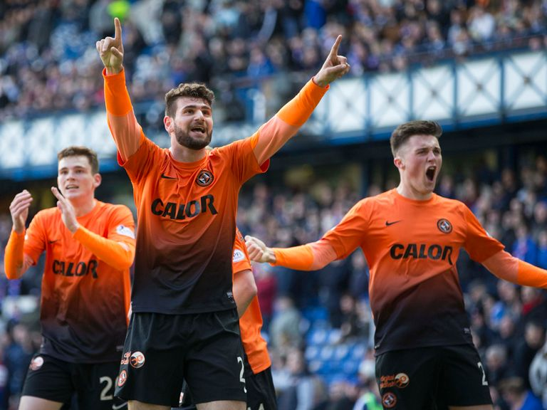 Nadir Ciftci celebrates semi-final success
