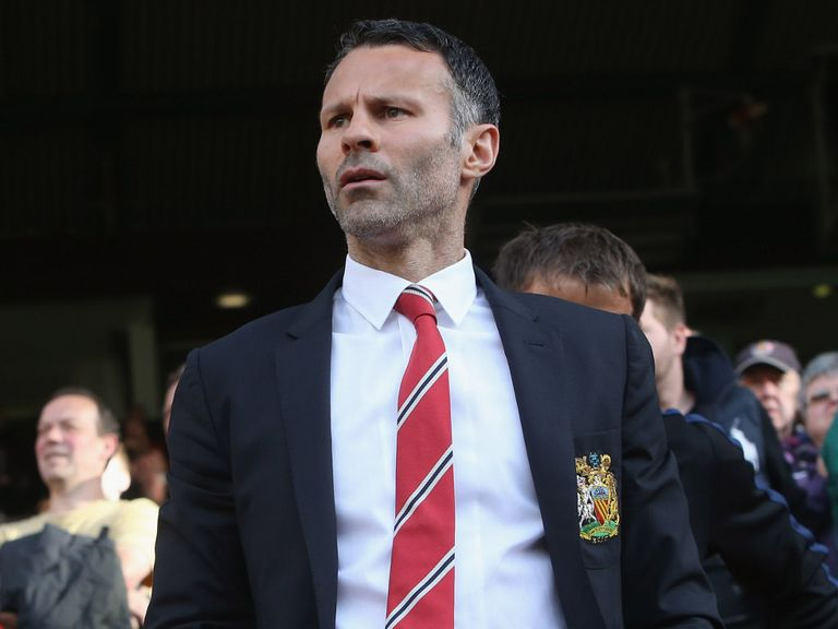 Giggs: Backed by Saha for the job at Old Trafford