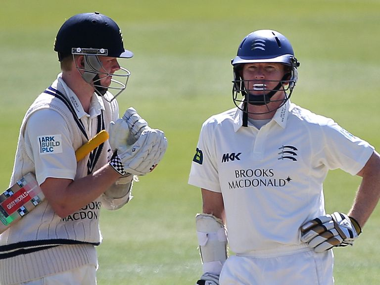 Chris Rogers (right): Described innings as the best of his career