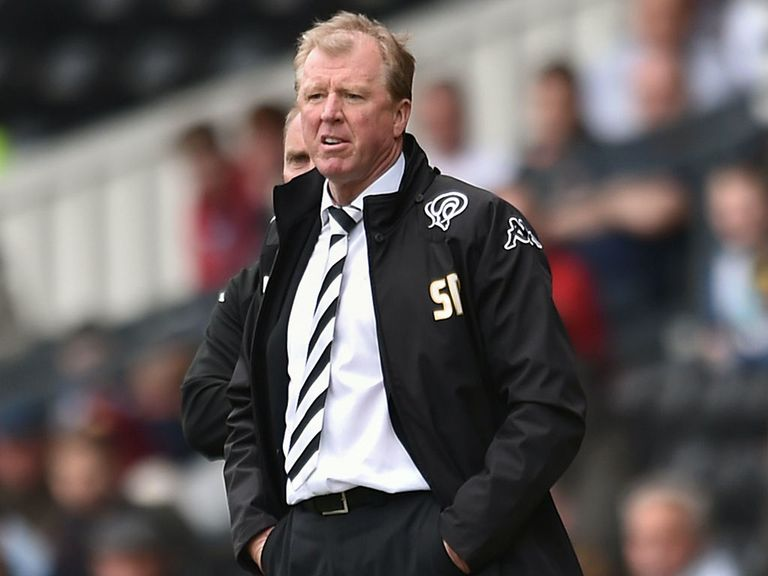 Steve McClaren: Relishing trip to Wembley