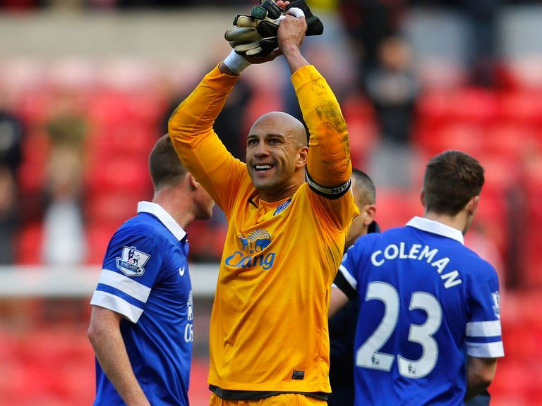 Tim Howard: Believes in David Moyes