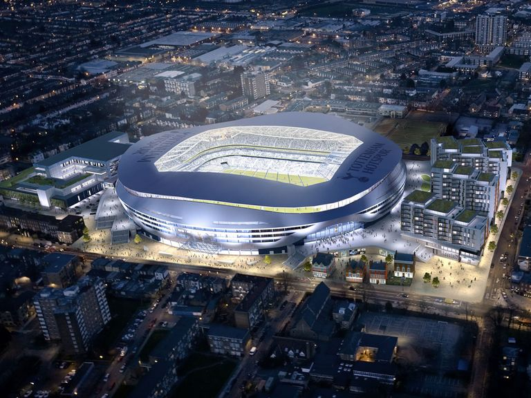 Tottenham's proposed new stadium