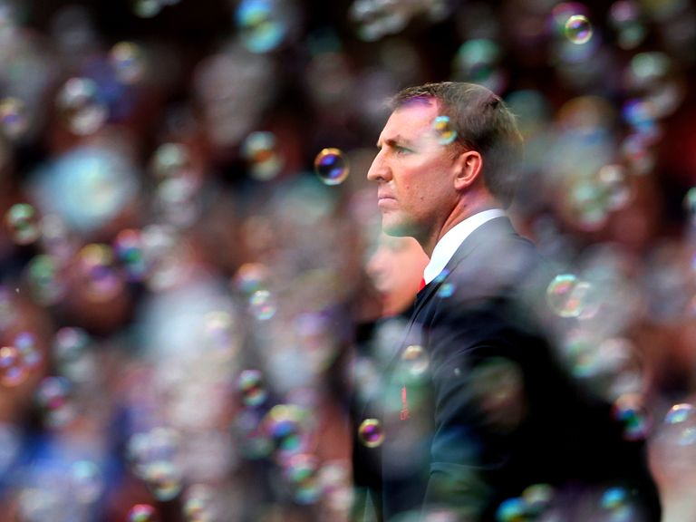 Brendan Rodgers: Watched his side win at West Ham