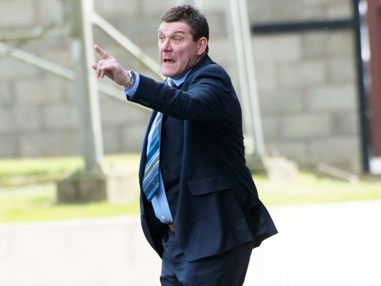 Tommy Wright: Has guided St Johnstone to the final