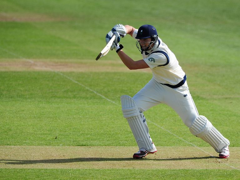 Alex Lees of Yorkshire: In great form