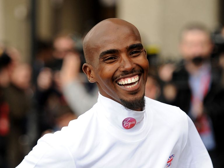 Mo Farah: Preparing for the London Marathon