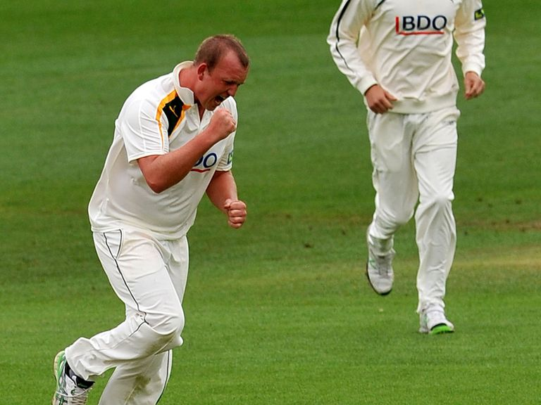Luke Fletcher: New contract for Nottinghamshire seamer