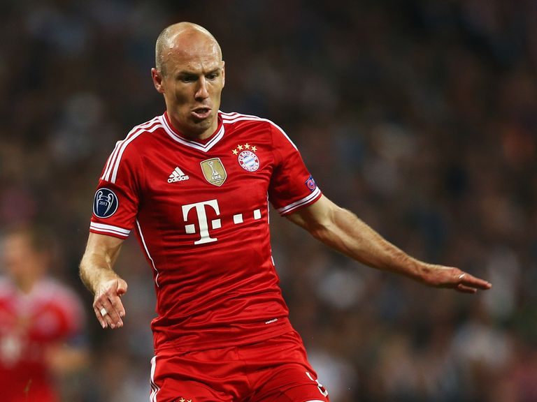 Arjen Robben: Not interested in joining Manchester United