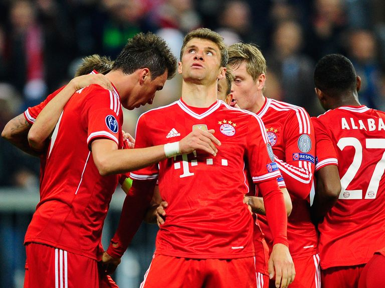 Bayern Munich are on the drift for the Champions League