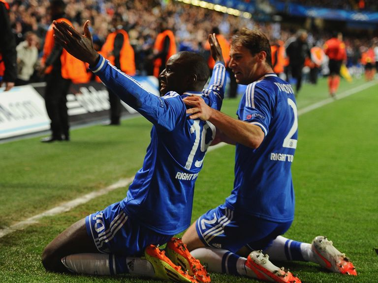 Demba Ba delivered a dramatic late win for Chelsea over PSG
