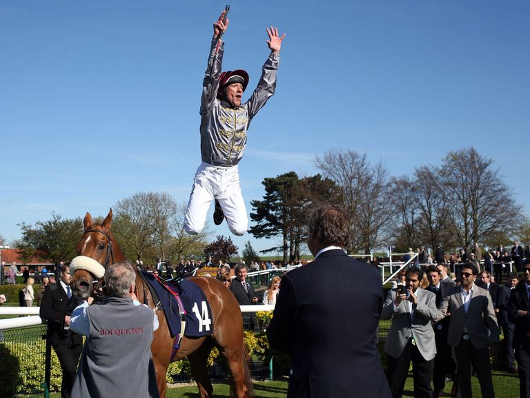 Frankie Dettori: Could be flying again at Ascot on Saturday