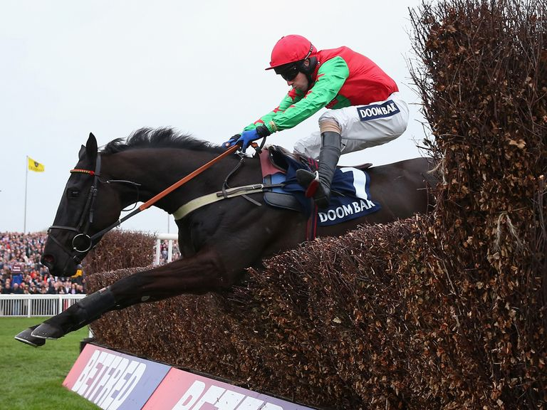 Balder Succes jumped for fun in the hands of Wayne Hutchinson