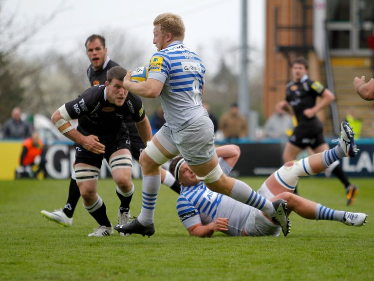 Saracens won 23-18 at Newcastle on Sunday