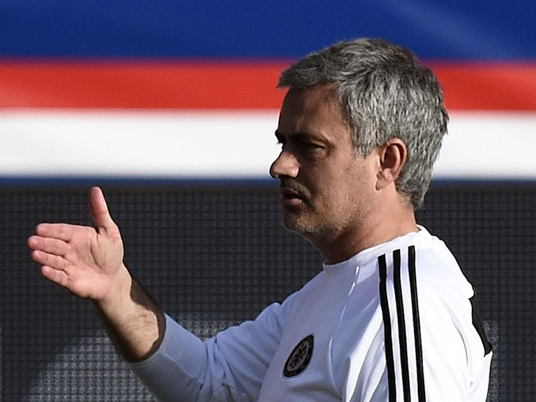 Jose Mourinho: Preparing his side to face PSG