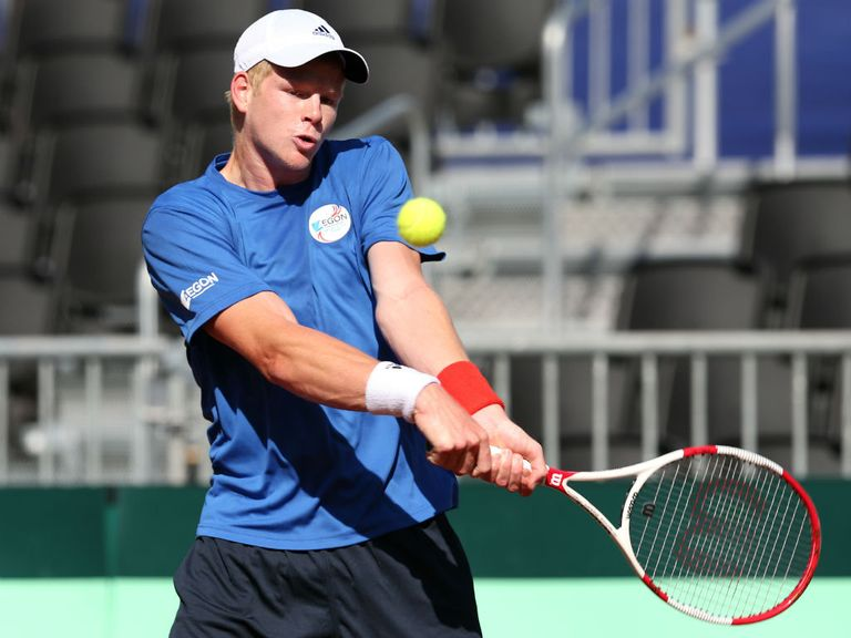 Kyle Edmund: Will now be coached by Greg Rusedski
