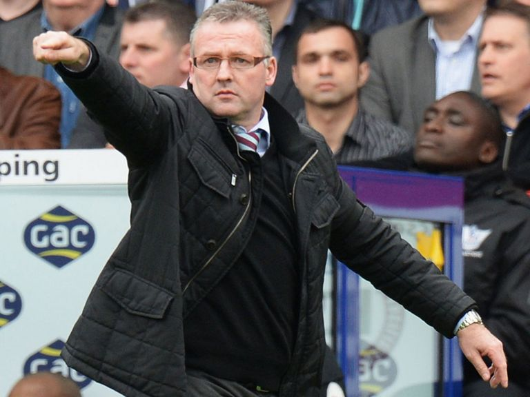 Paul Lambert: Would only talk about on-field matters