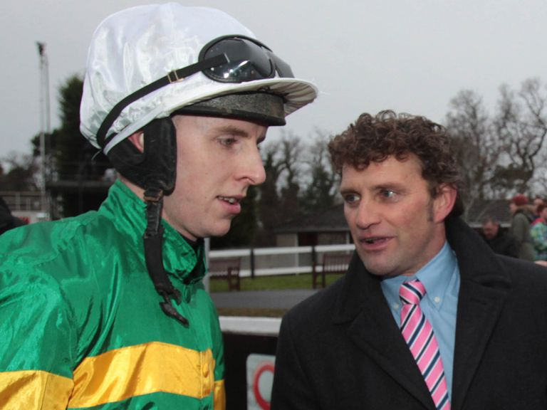 Mark Walsh: Rider of the well-backed Henry Higgins.