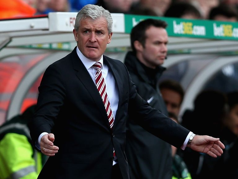 Mark Hughes: Wants to break new ground with Stoke