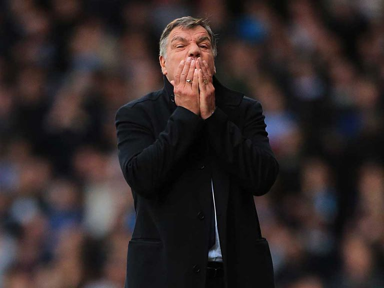 Allardyce and West Ham are still chasing points