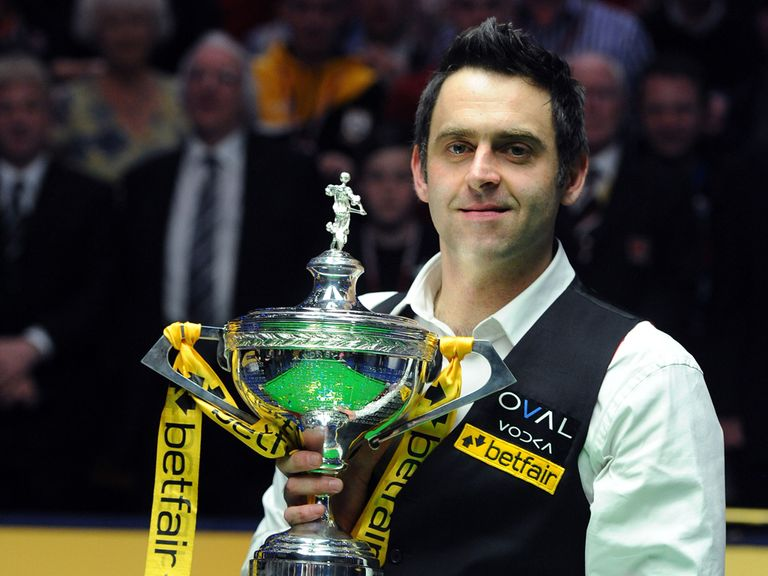 Ronnie O'Sullivan: Aiming for another title