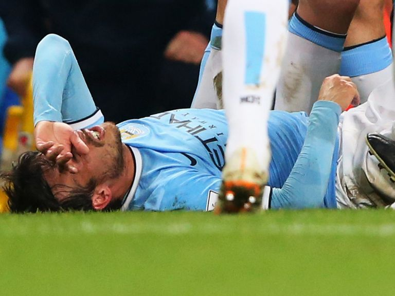 David Silva: Injury blow for Manchester City